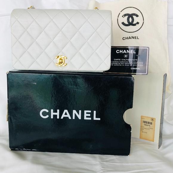 6c24e70b5d18 CHANEL Bags | Vintage Full Flap Bag Quilted Lambskin Mini | Poshmark